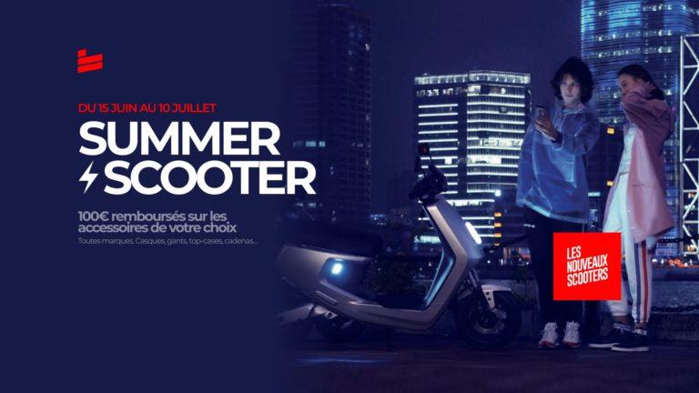 Summer ⚡️ Scooter : 100€ remboursés sur vos accessoires