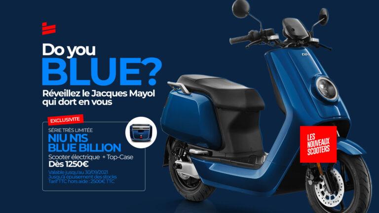 Offre Limitée : Niu N1S  Blue Billion