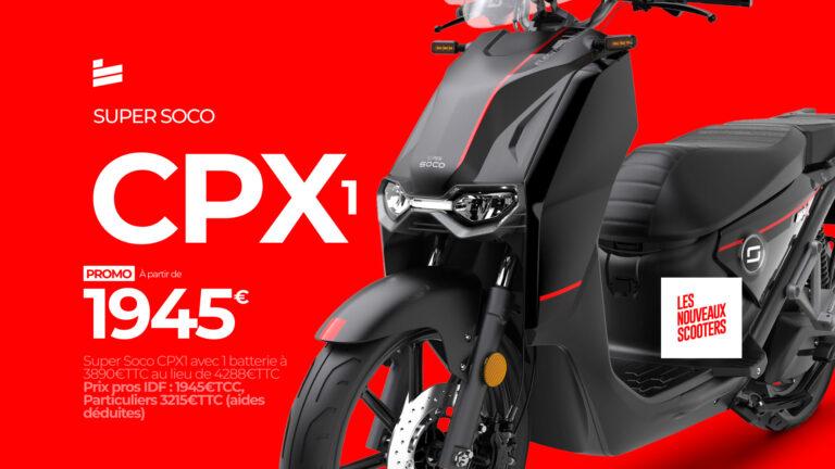 Promo CPX1 - Super Soco